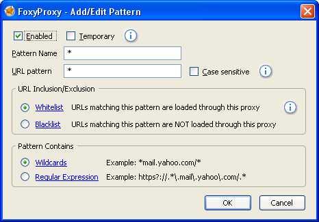 ... website yg kita buka akan menggunakan proxy, kalau pingin yg spesifik